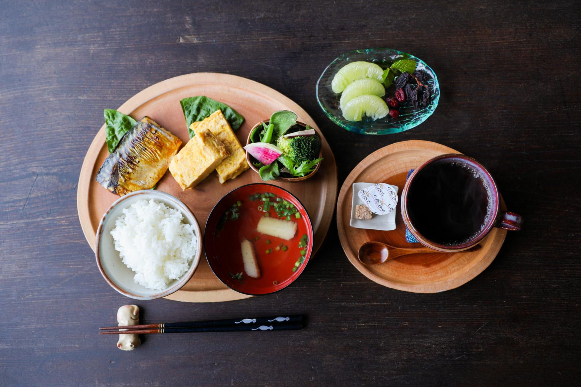 ゆくる ある日の朝食